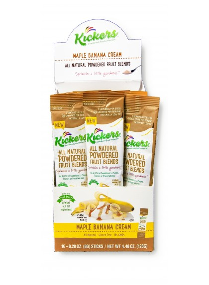Maple Banana Cream - 16ct Stick Pack Box