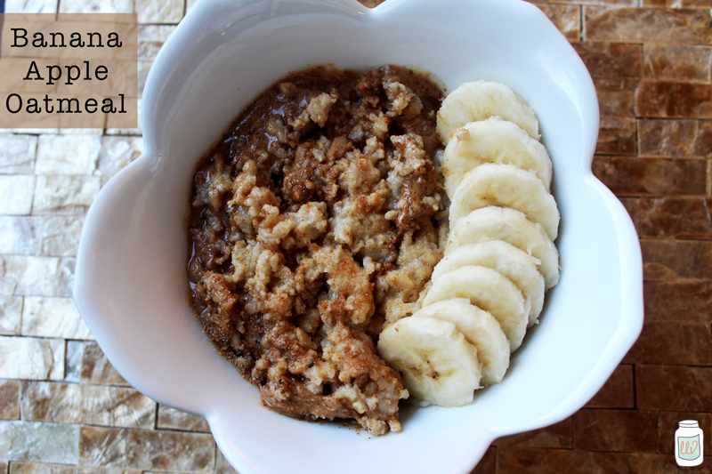 Banana Apple Oatmeal