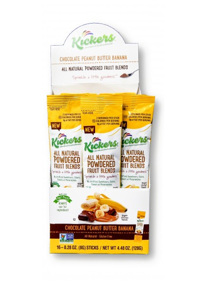 Chocolate Peanut Butter Banana - 16ct Stick Pack Box